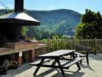 Le Lodge, notre espace barbecue