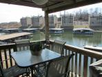 Each Condo Furnished with Patio Set and Gas Grill