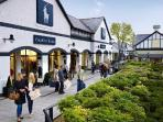 Cheshire Oaks Designer Outlet with over 145 leading brands at discount prices - 10 minutes by car