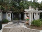 Coligny Beach Park Restrooms and Showers/Beach Access