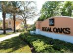 The new Regal Oaks entrance