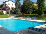 Parco e zona piscina