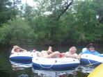Tubing the Santa Fe River
