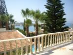 veiw from verandah of Coral Bay