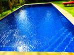 Pool: 9 m x 5 m, water depth 1,60 m