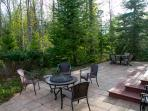 Back of Home with Patio Area, BBQ Grille, Firepit (View 2)