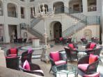Inside Villa Padierna Hotel