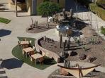 Encanto Living BBQ Area - Just smell those shrimp on the barbie
