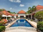 Luxury 3 bedroom main house, 2 bedroom bungalow with private pool near Bang Tao beach