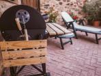 Detalle de patio