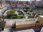 Vistas del  Parque  Infantil de Tráfico. Sirve de referencia para localizar el apartamento.