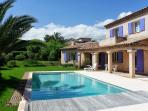 House LUERNA lovely family holiday home near Vence