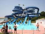 Waterpark 20 minutes drive