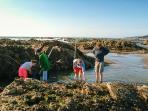 Widemouth beach