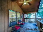 Front porch seating area for 2