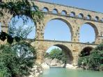 Pont du Gard (at 10 minutes)