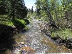 Tahosa Creek Tahose Creek borders the property