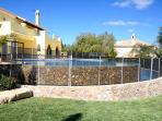 Villa Amarela has a pool safety fence available, this must be requested in advance.