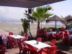 Restaurang på stranden