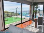 Lounge & view