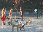 sports area playground