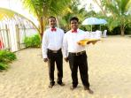 Handsome Waiters set for an occasion