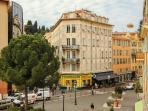 Place du Pin and rue Bonaparte, leading to Place Garibaldi, promenade du Paillon/  old Nice town
