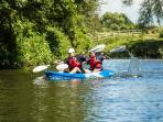 Kayaking on the Brue