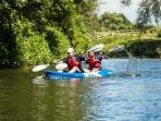 Kayaking on the Brue