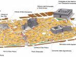 mappa centro storico