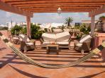 Rooftop terrace fully furnished