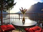 Spectacular view of Lake Como from the balconies
