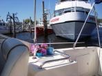 Or Take the Freedom Ferry over to Nantucket for the Day! Free parking - right next door to Brax Landing. - South...