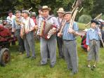 Enjoy one of the many fetes / festivals that take you back in time.