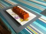 Cake aux agrumes ' maison'