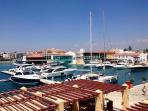 New Limassol Marina 15 mins drive