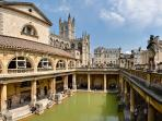 City of Bath - 1 hours drive
