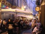 Dining in Montpellier