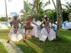 The Famed Kandy Dancers make a party very special