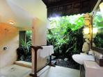 Orange Orchid Bathroom - Bringing the outside in and the inside out