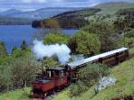 Brecon mountain railway in Merthyr