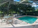 Another view of private pool with spacious lanai