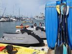 Rental jet ski: peddle boat & more.
