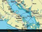 Routes to Savary Island