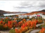 Tremblant View in the Fall