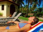 This could be YOU, relaxing near the pool!