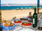 Sfiha beach (10min driving)