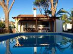 Pool private 6x4m, terace, lounge