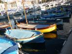 Nice Harbour - Fishing boats and yachts, what a mix!