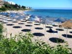 Riviera del Sol beach (15 mins walk)
